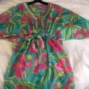 Lilly Pulitzer Wilda Crystal Caftan Dress